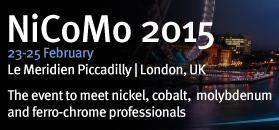 NiCoMo is the premier event for nickel, cobalt, molybdenum and ferro-chrome professionals.