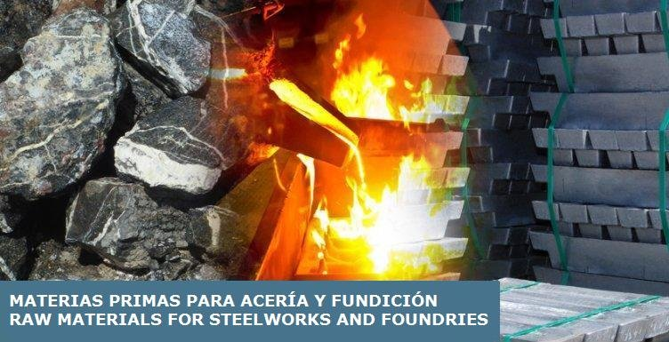 Raw Materials for Steelworks and Foundries